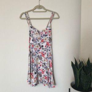 Solemio Boutique Floral Sun Dress S